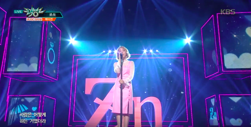 Meaning Behind Stage Prop During Baek Ah Yeon's Performance Is Revealed