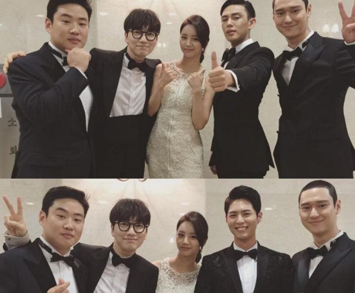 Lee Dong Hwi Hyeri Yoo Ah In