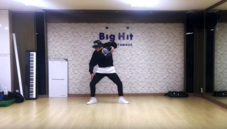 BTS's J-Hope Is As Fluid As Water In Dance Practice Video For Concert