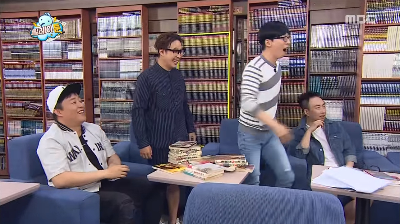 """""""Infinite Challenge"""" Writer Reveals Unique Fan Fiction She Wrote In The Past About Two Cast Members"""