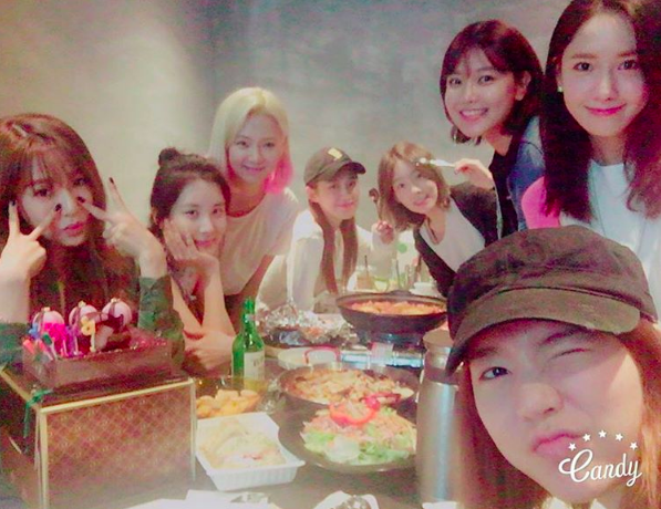 Girls' Generation Get Together To Celebrate YoonA And Sunny's Birthdays