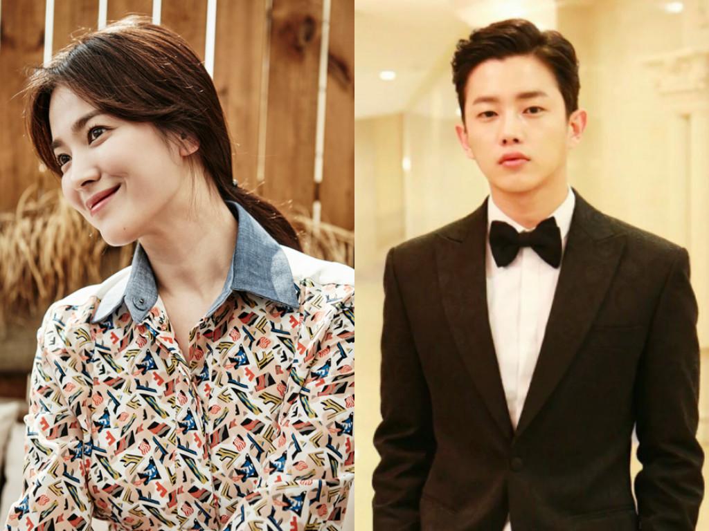 Song Hye Kyo Kim Min Suk