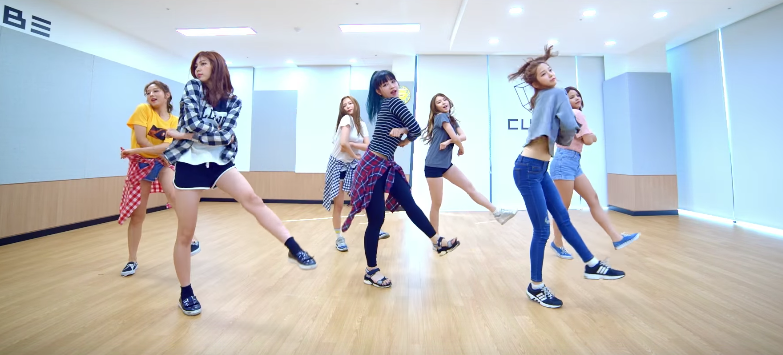 "CLC Gets Their Groove On In ""No Oh Oh"" Choreography Practice Video"