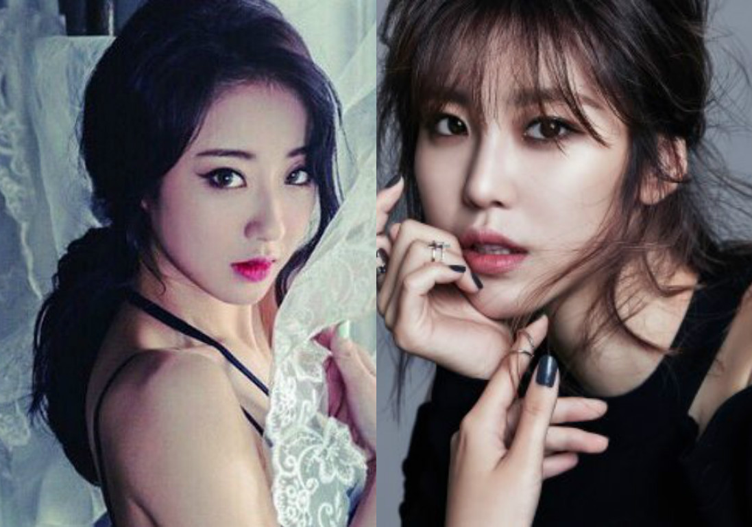 9MUSES Kyungri Secret Jun Hyosung