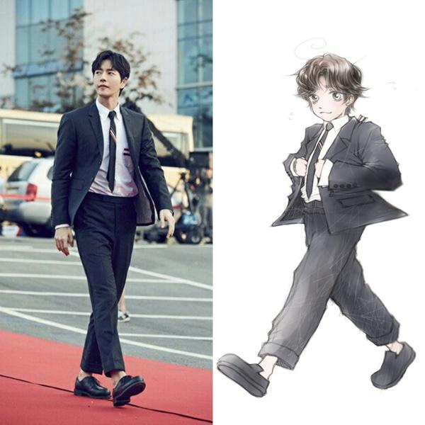 Park Hae Jin webtoon
