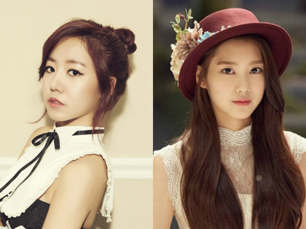 "A Pink's Namjoo And Oh My Girl's Jiho Join ""Girls Who Eat Well"" Line-Up"