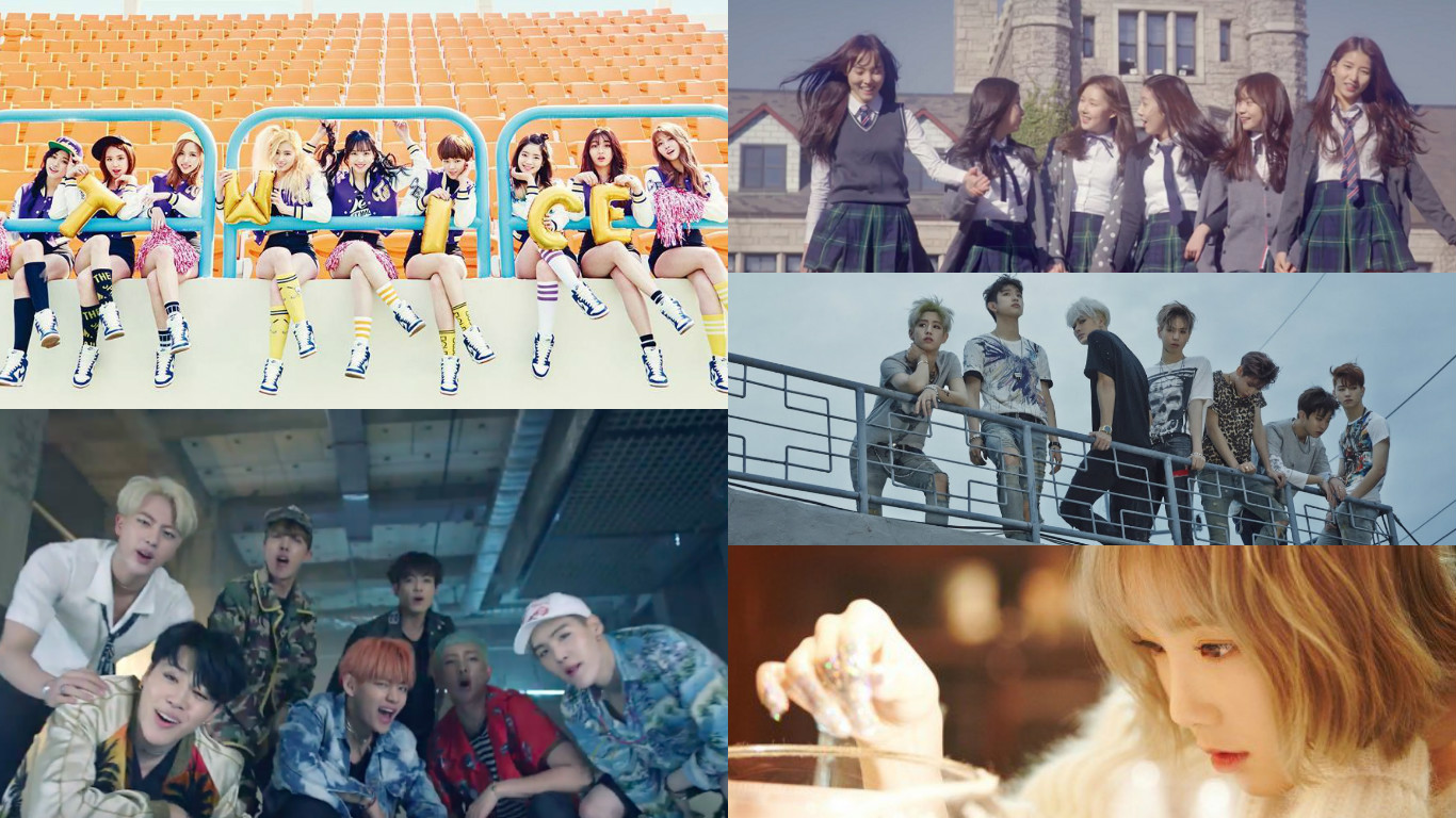 Top 20 Most-Viewed K-Pop Music Videos In 2016 So Far