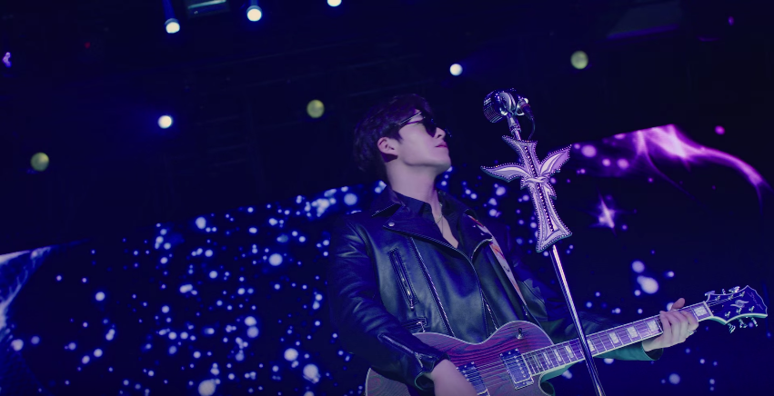 "Watch: Kim Woo Bin Transforms Into a Rock Star In ""Uncontrollably Fond"" Teaser"