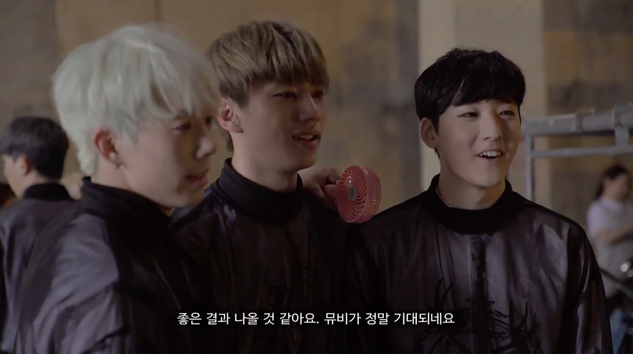 u-kiss making of video