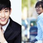 Bae Yong Joon Stops By The Set Of Kim Soo Hyun's New Film