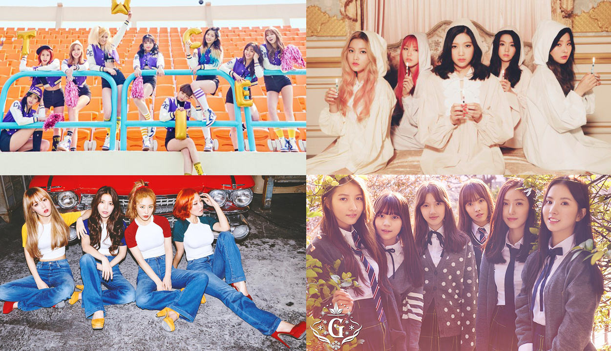 4 Girl Groups That Are Totally Hot Right Now