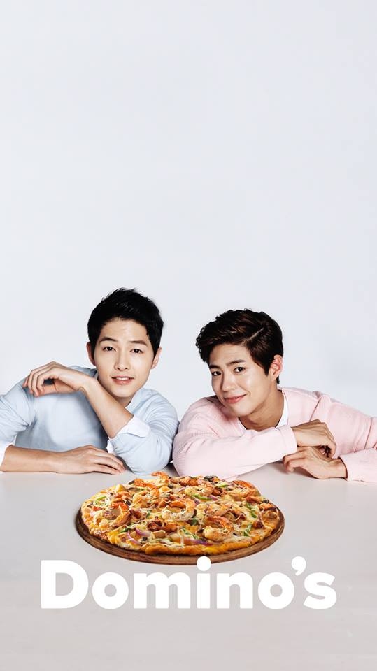 Song Joong Ki Park Bo Gum Dominos 2