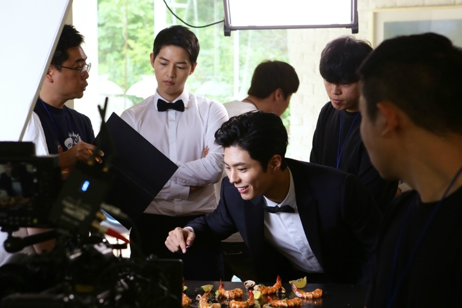 Song Joong Ki Park Bo Gum Dominos 5