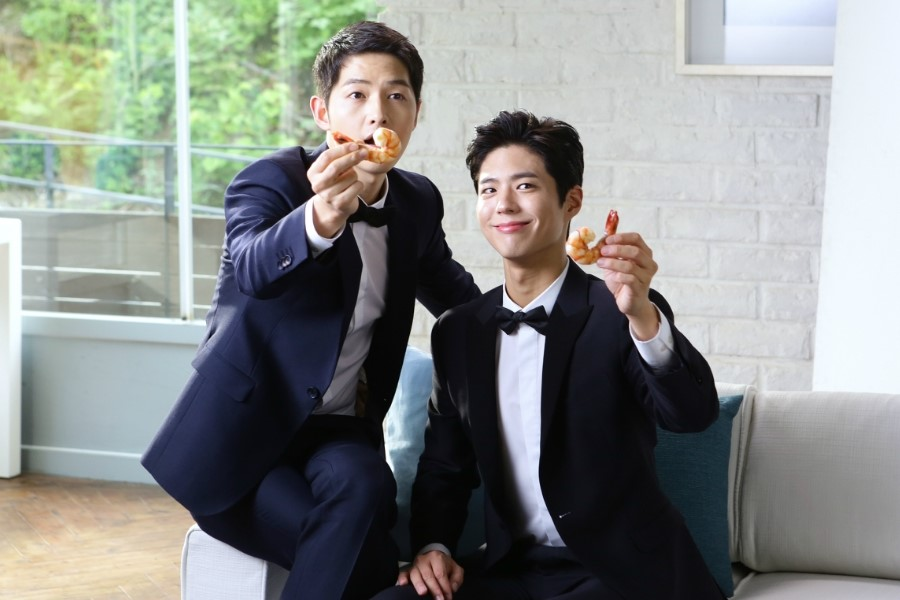 Song Joong Ki Park Bo Gum Dominos 6