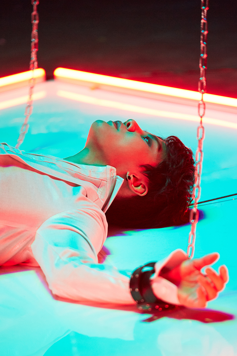 "Exclusive: Behind-The-Scenes Look At XIA's ""Rock The World"" Music Video Filming"