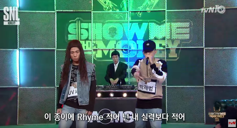 "AOMG Artists Rap Battle ""SNL Korea"" Cast In ""Show Me The Money"" Parody"