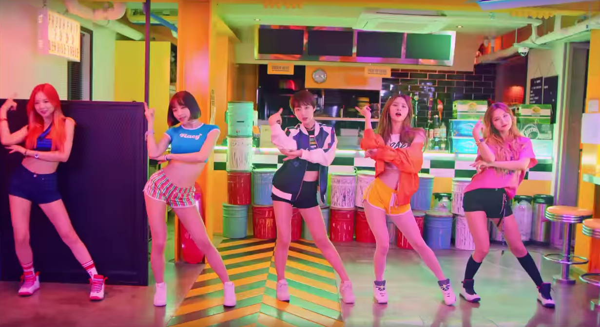 """Watch: EXID Releases Colorful Dance Version of """"L.I.E"""" MV"""