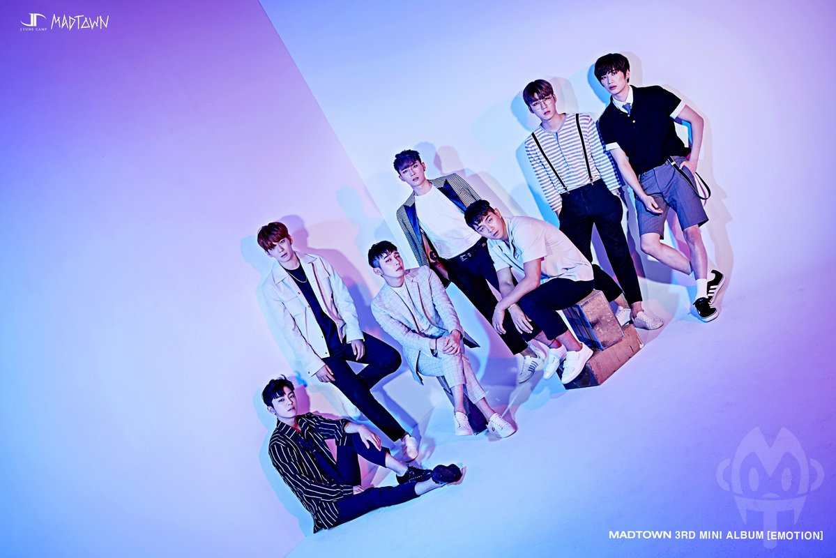 """MADTOWN Releases First Set Of Teaser Images For Comeback With """"Emotion"""""""