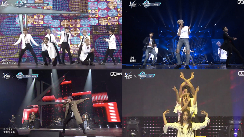 Watch: BTS, SHINee, f(x), FTISLAND, Block B, And I O I Bring