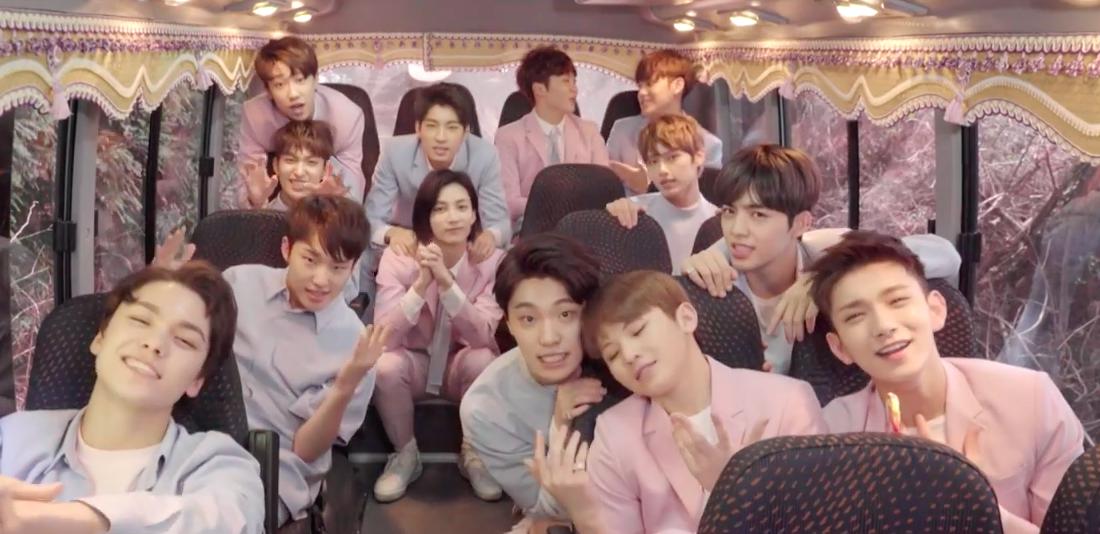 """Watch: SEVENTEEN Sends Fans A """"Love Letter"""" In New MV"""