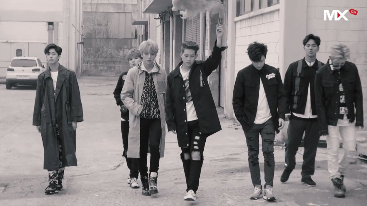 MONSTA X Shares Behind The Scenes Glimpse Of Jacket Photo Shooting
