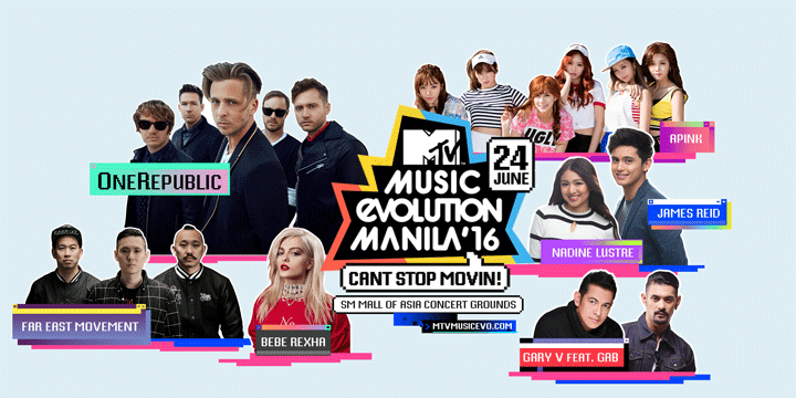 Giveaway: See APink and More Perform At MTV Music Evolution Manila