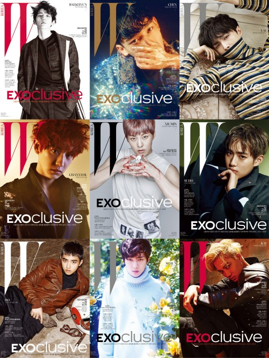"""EXO And W Korea Join Hands For Special, Large-Scale """"EXOclusive"""" Project"""