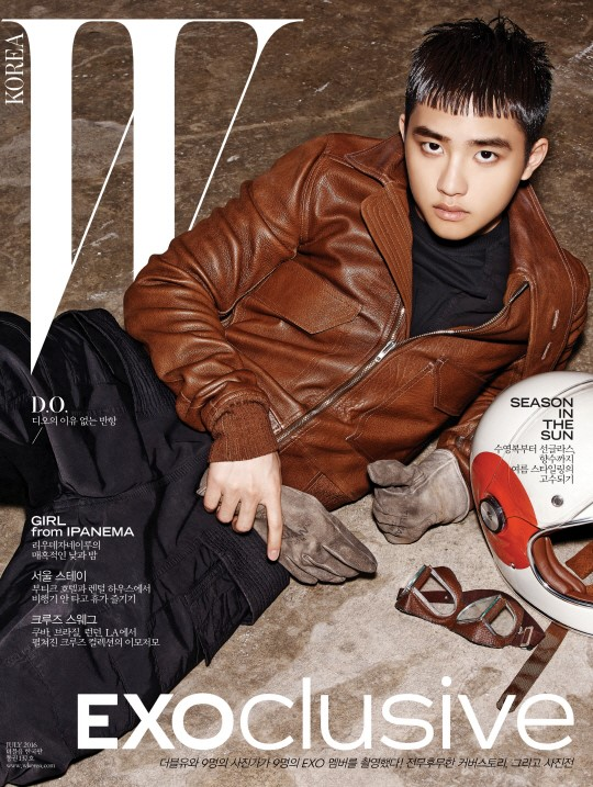 exo and w korea join hands for special largescale