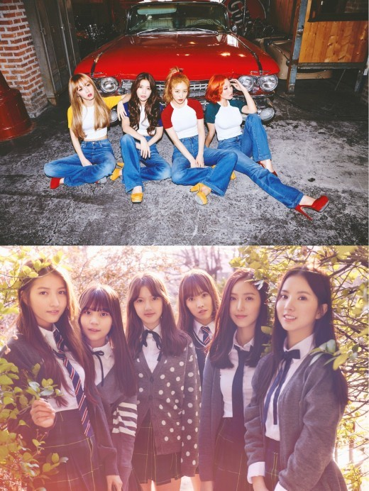 "MAMAMOO And GFRIEND To Star In New Season of ""Showtime"""