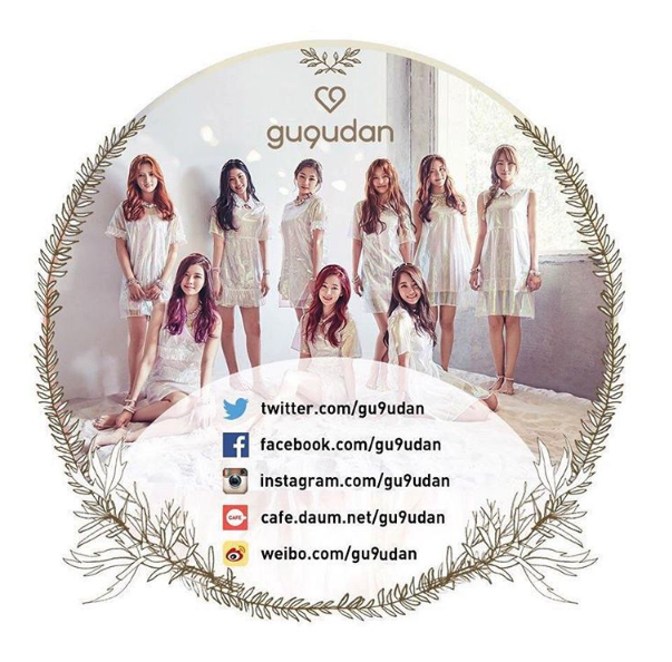 gugudan social media accounts