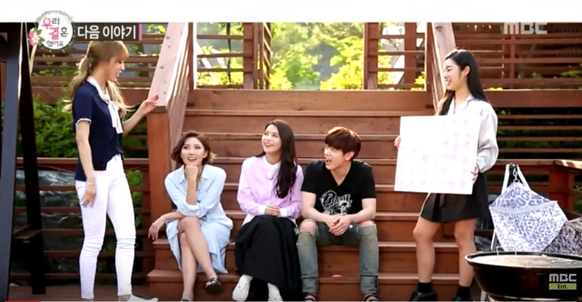 """MAMAMOO Prepares To Give Eric Nam A Hard Time In """"We Got Married"""" Preview"""