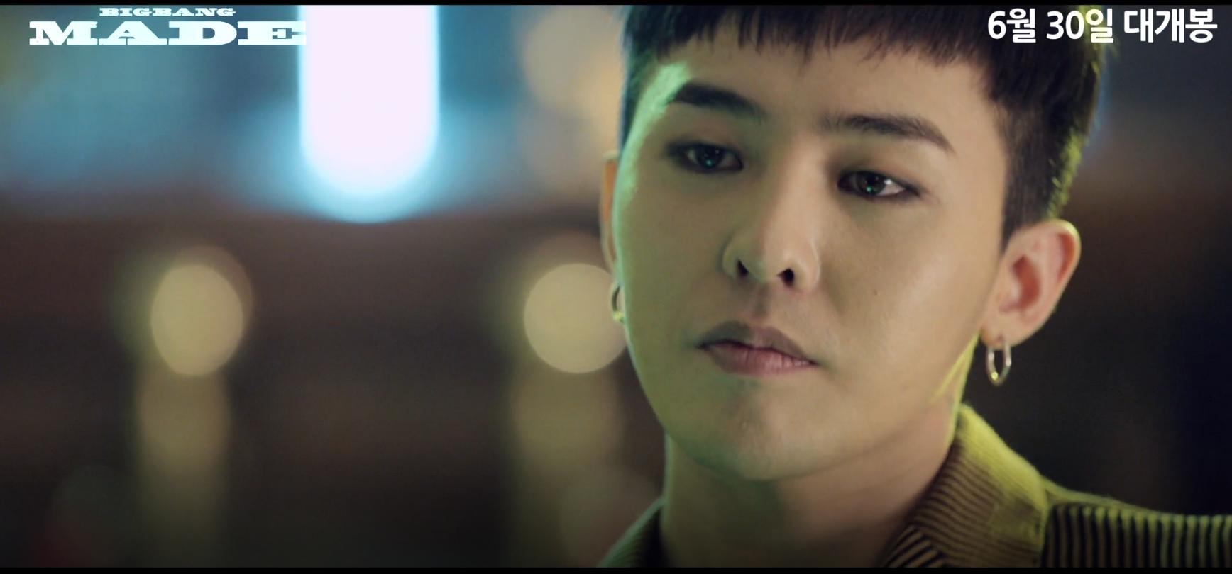 "G-Dragon Says BIGBANG Is Scared Too In Latest ""BIGBANG Made"" Teaser"