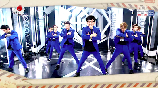 "Fans Spot Camera With ""Infinite Challenge"" Logo In EXO's Dressing Room, SM And MBC Respond"