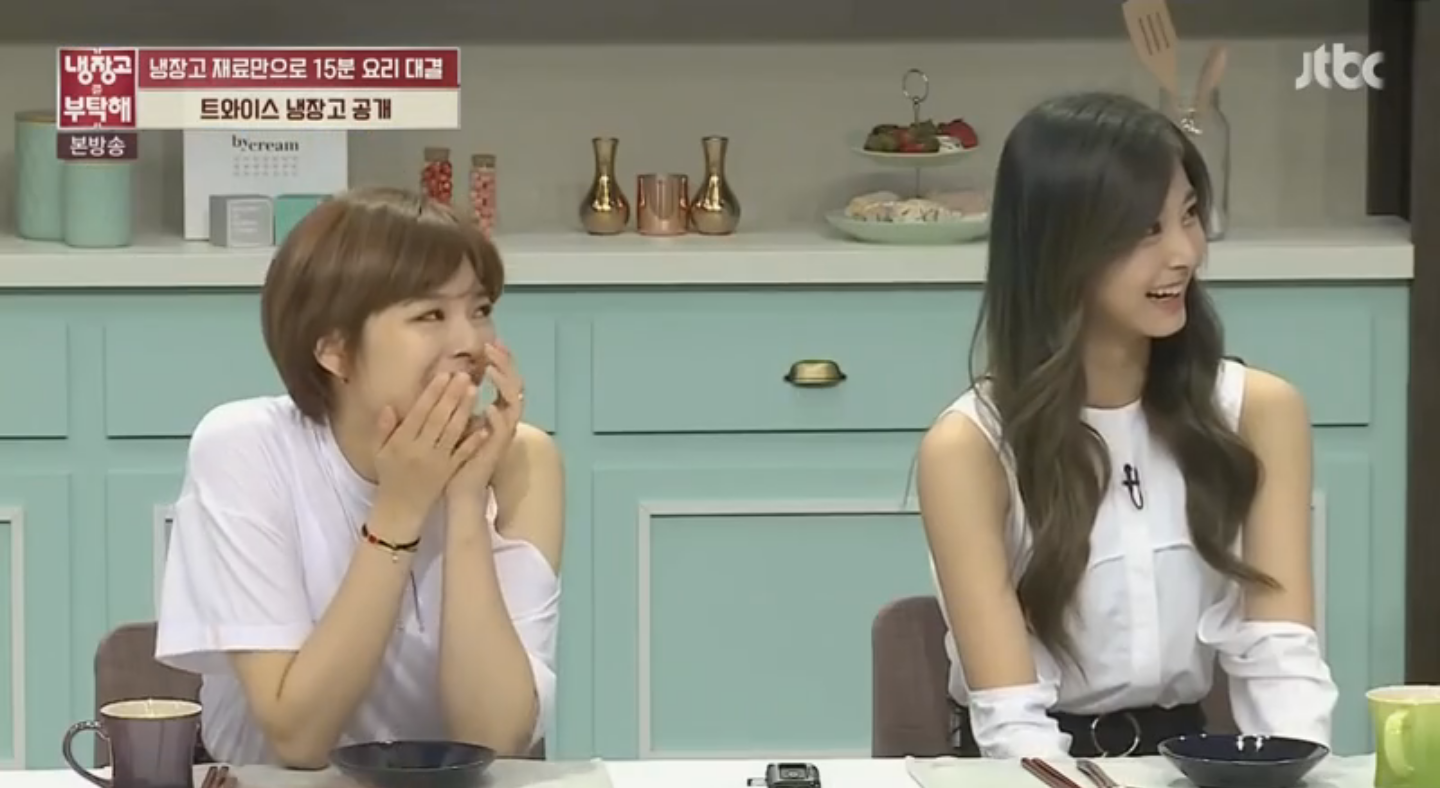 Watch: Tzuyu And Jeongyeon Reveal Contents Of TWICE's Fridge And Accidentally Betray Messiest Member