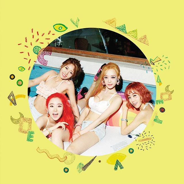 "Update: Melody Day Is Ready For Summer Fun In New Teasers For First Mini Album ""Color"""