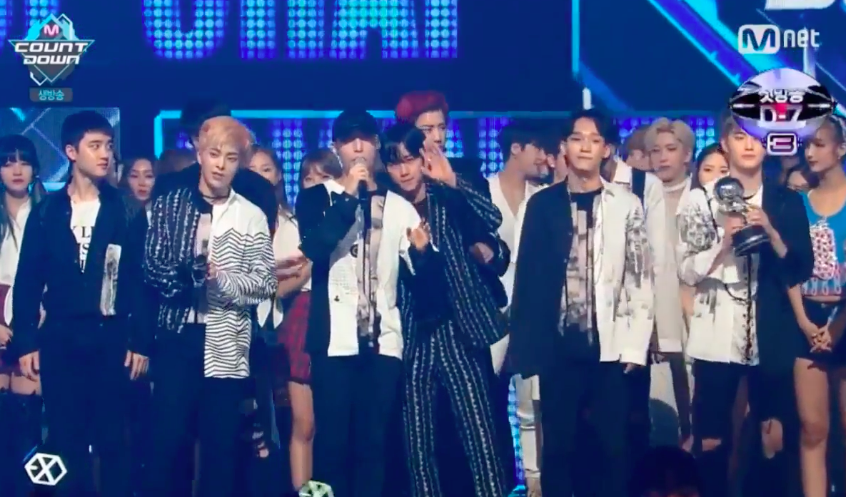 "Watch: EXO Grabs 5th Win For ""Monster"" On ""M!Countdown,"" Performances By SISTAR, EXID, And More"