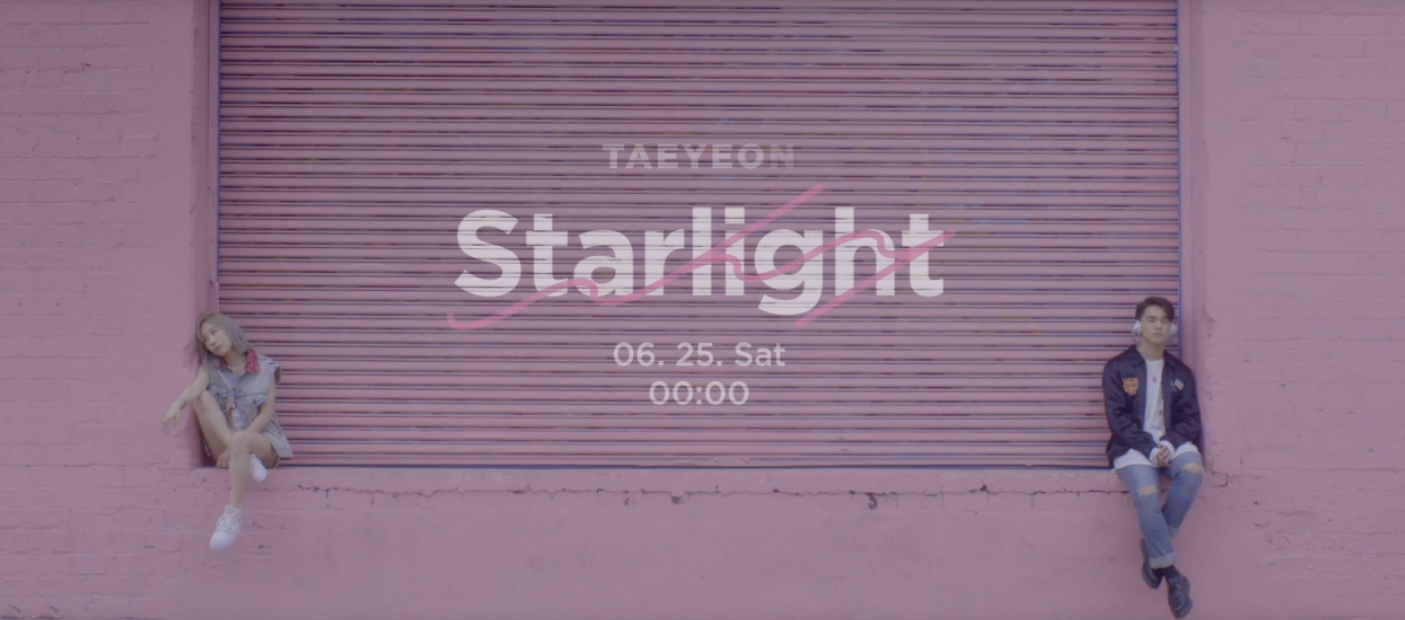 "Watch: Girls' Generation's Taeyeon And DEAN Show Off Their Chemistry In Teaser For ""Starlight"" MV"