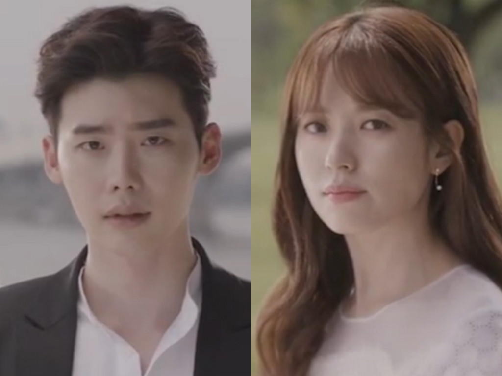 "Watch: Lee Jong Suk And Han Hyo Joo Build Anticipation In New ""W"" Trailers"
