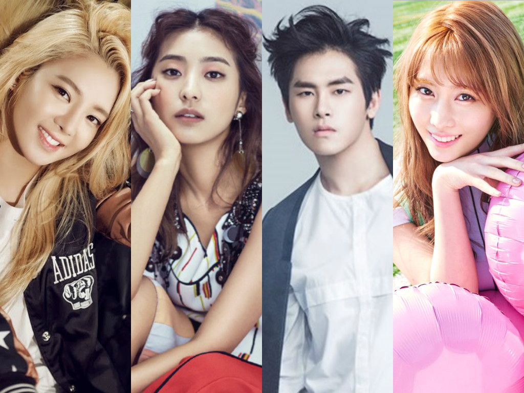 "Hyoyeon, Bora, Hoya, Momo, And More Confirmed For ""Hit The Stage"""