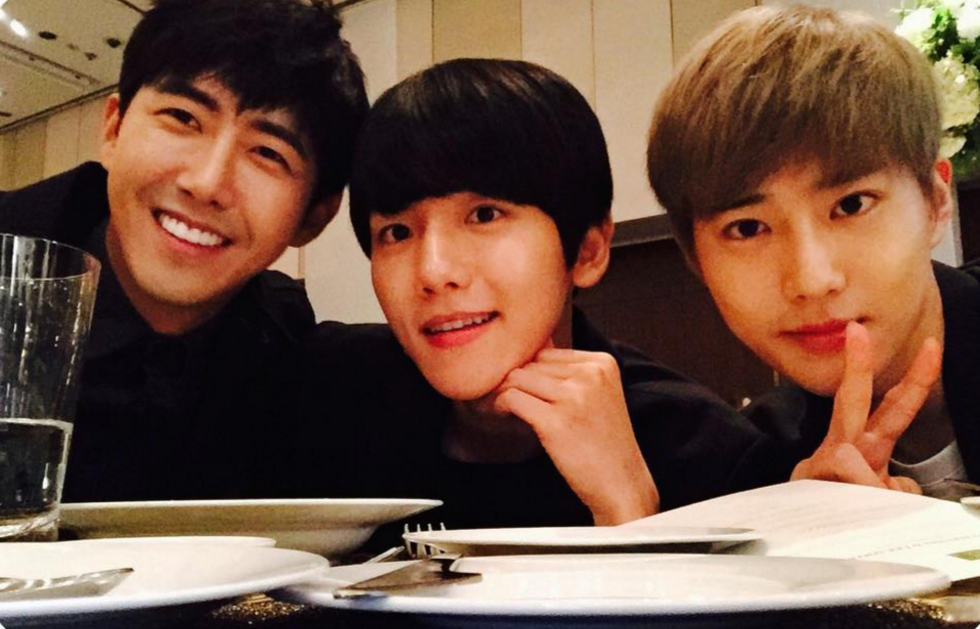 ZE:A's Kwanghee Shares Drawings Of EXO's Baekhyun And Suho + Their Response