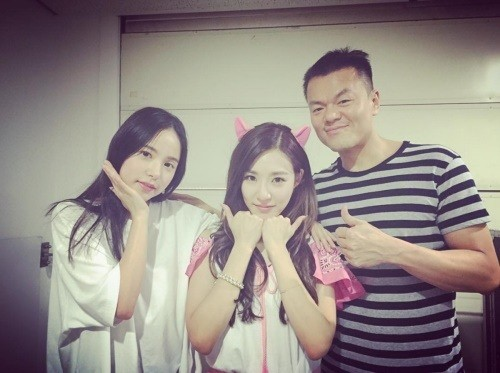Min Hyo Rin And Park Jin Young Cheer On Tiffany At Her Solo Concert