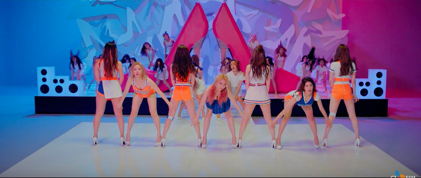 "Watch: Brave Girls Show Off Legs In Dance Version MV Of ""High Heels"""