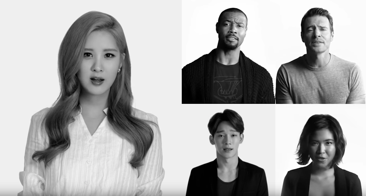 "Watch: SM Artists Cover ""Imagine"" With Katy Perry, will.i.am, David Guetta, And More For UNICEF Project"