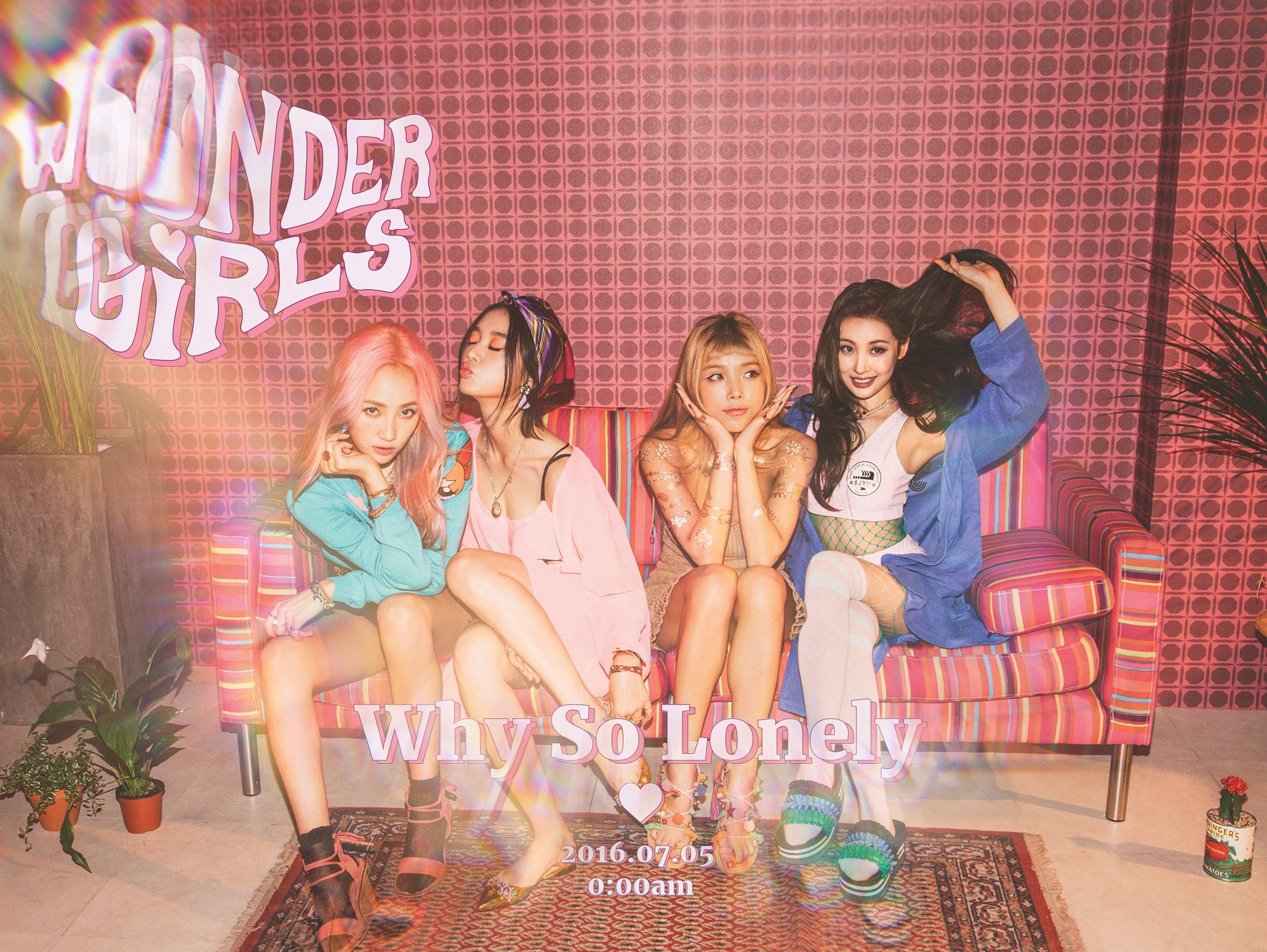 """Update: Wonder Girls Shares Track List And Album Preview For Comeback With """"Why So Lonely"""""""