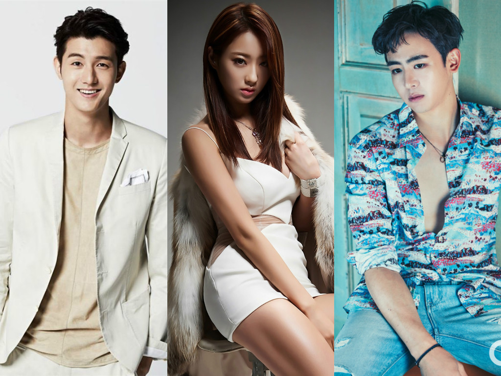 Lee Ki Woo Kyungri Nickhun