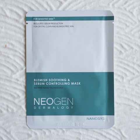 Neogen-Blemish-Soothing-Sebum-Controlling-Mask