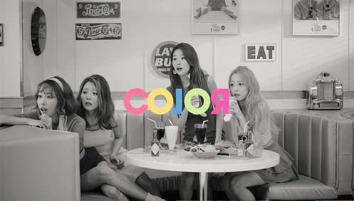 "Melody Day Go Retro In Black-And-White MV For ""Color"""