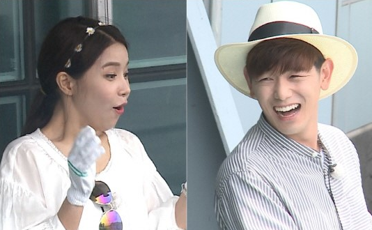 "MAMAMOO's Solar Becomes Captivated By Fishing On ""We Got Married"""
