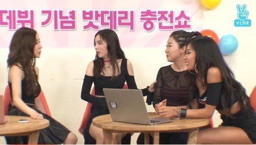 Unnies Tiffany Min Hyo Rin Ra Mi Ran Jessi