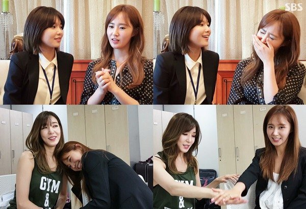 """""""Law of the Jungle"""" Releases Clip Of Sooyoung And Tiffany Cheering On Yuri Before Her Trip"""